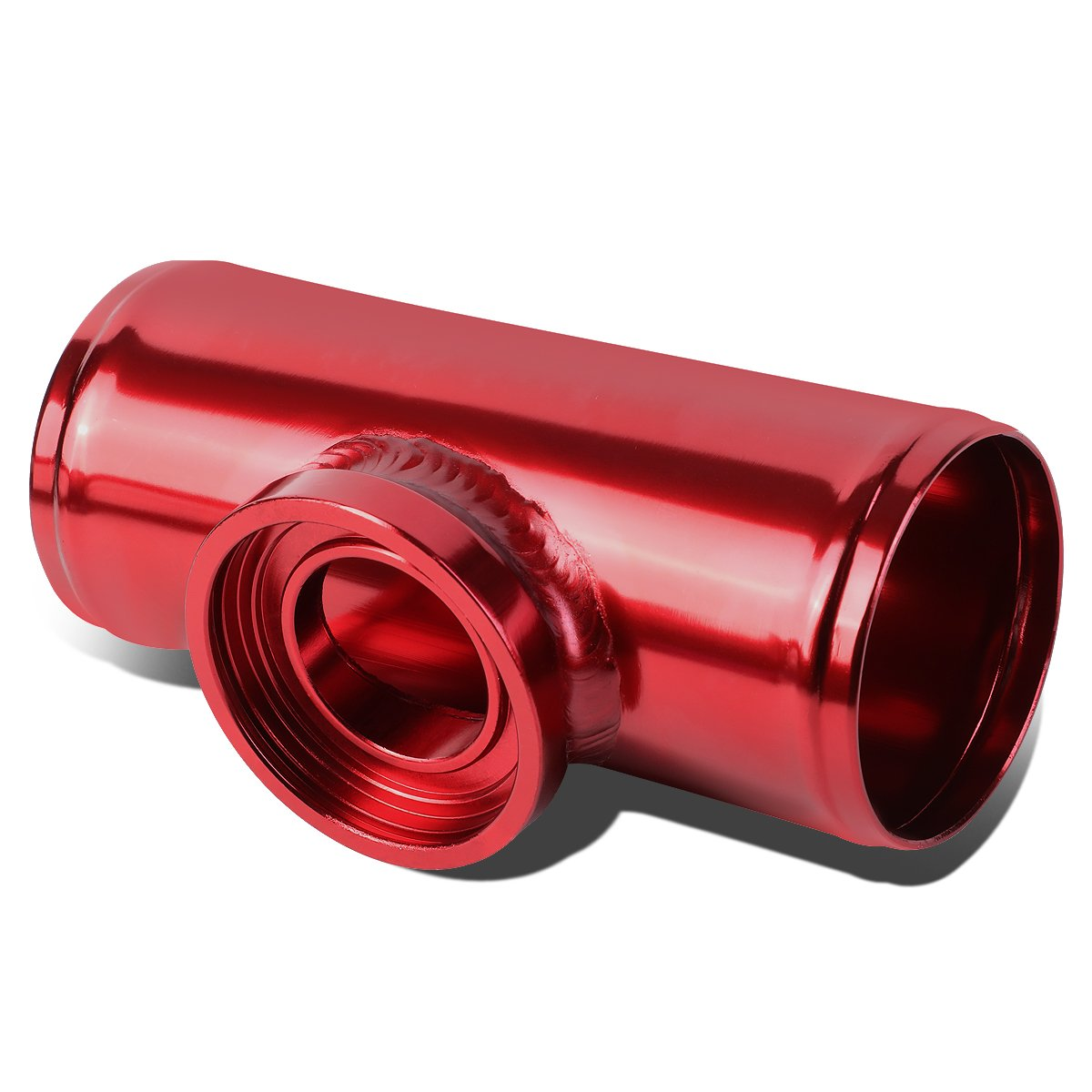 DNA Motoring FP-H250-RD Turbo Blow Off Valve Aluminum Flange Adapter Pipe