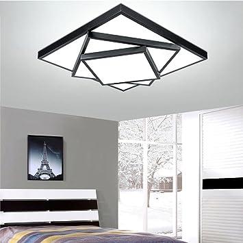 Kreative Zauberwürfel Deckenleuchte Leuchte Unterputz Modern Geometrische  Quadratische Deckenleuchten Für Wohnzimmer Multi Layer Eisen Acryl