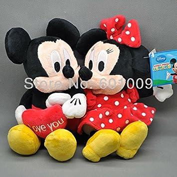 Amazon.com: EMS 20/lot Nueva Figura Mickey & Minnie ...