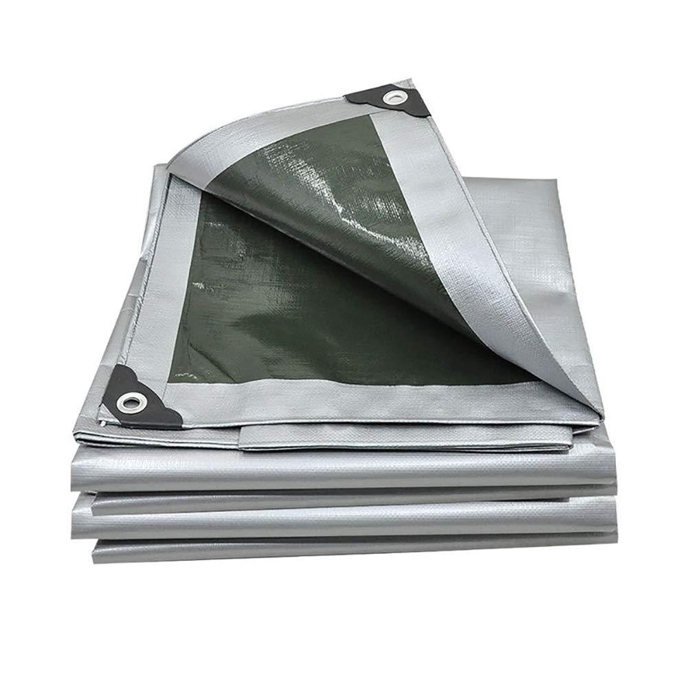 JNYZQ Sunblock Schatten Tuch verdicken Wasserdichte Plane Heavy Duty Plane Tarp Boden Blatt Abdeckungen für Camping LKW (größe   5x5m)