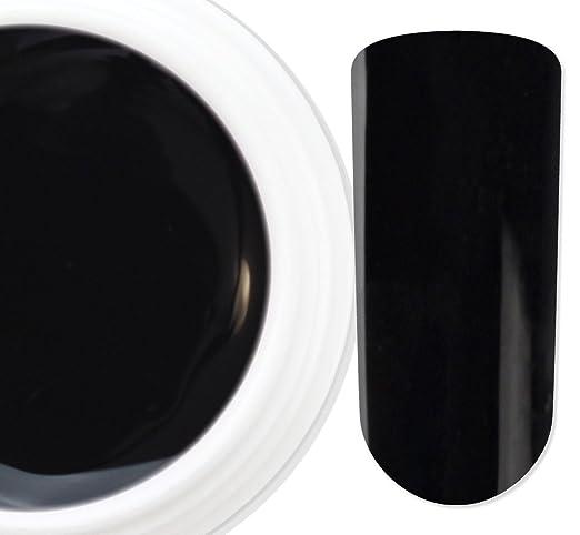 2 opinioni per Colori pieni- Nero 17- coprente- gel uv colorato unghie ricostruzione 5ml