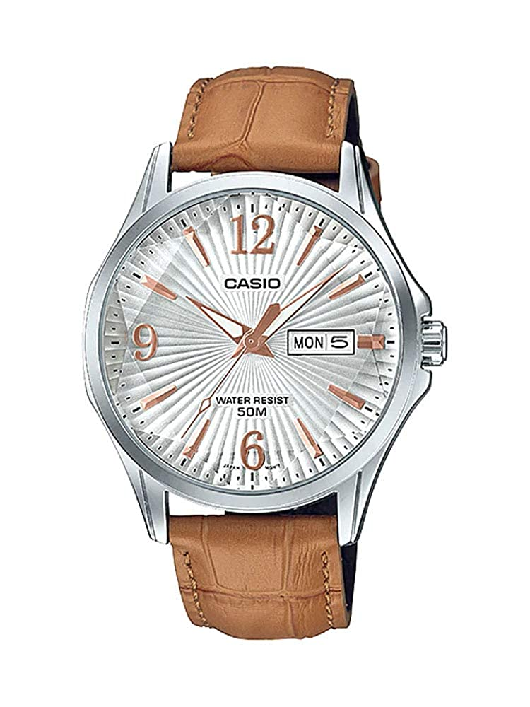Amazon.com: Casio MTP-E120LY-7AV - Reloj de pulsera para ...