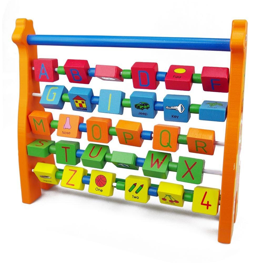 Wooden Toys Wooden Alphabet Giraffe Abacus 819 HJD93143