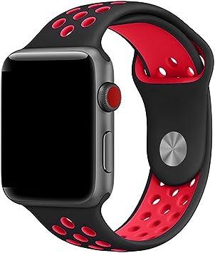 LeeHur Correa Apple Watch Acero Inoxidable Repuesto de Pulsera ...