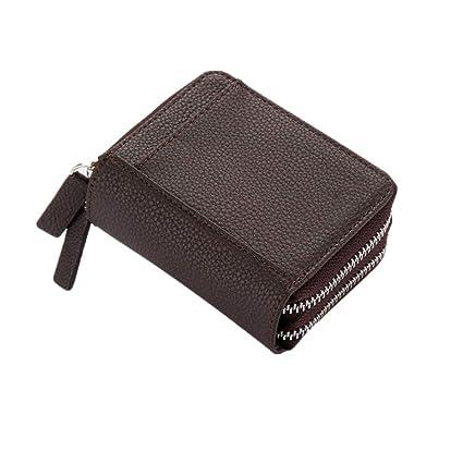Monedero de bolsillo para mujer Tarjeta de crédito Monedero ...