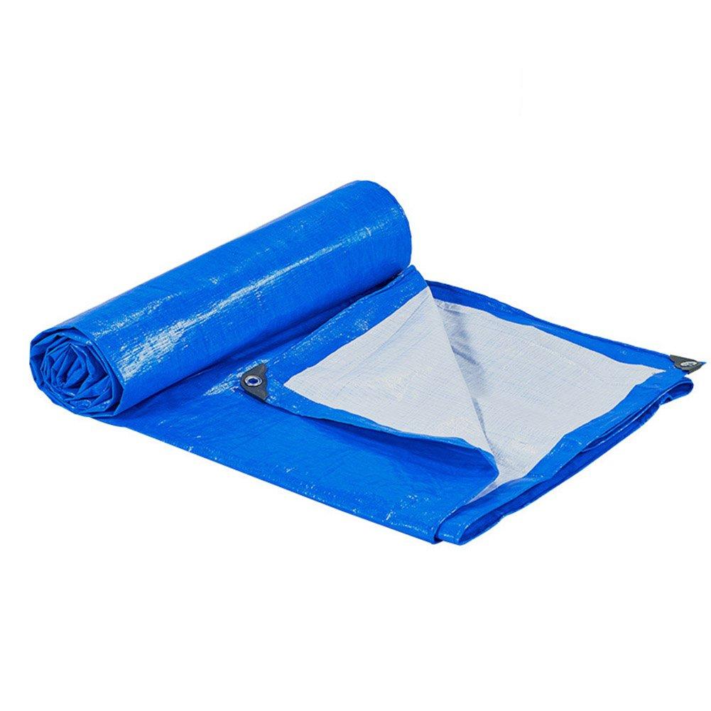Tarpaulin HUO Wasserdichte Regenschutz-Auto-Auto-Frost-Widerstand Schuppen-Tuch, Stärke 0.3mm, 170 G M², blau (größe   3  6m)