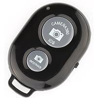 Bluetoothリモートシャッター IOS Android通用 カメラリモコン カメラシャッターリモコン ワイヤレス リモートシャッター 簡単接続 自由なカメラリモコンBluetooth Shutter Remoteブラック対応