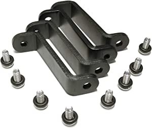 XSPC Radiator Standoff Bracket Set (6-32 UNC), Black