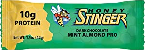 Honey Stinger Food Mint Protein Bar (Box of 15)