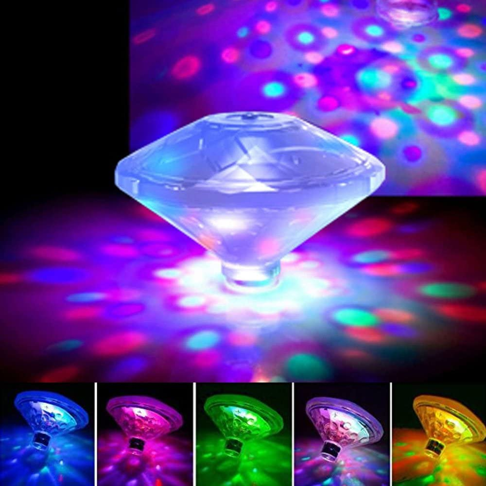 B07DRBJG4P EOSAGA Waterproof Swimming Pool Lights, Baby Bath Lights for The Tub(7 Lighting Modes), Colorful LED Bath Toys Bathtub for Pool, Pond, Hot tub or Party Decorations 61XOkjBMWfL