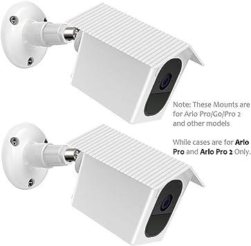 3 Wall Security Camera Mount Bracket Adjustable Arlo Pro 2 Arlo Pro Cam Black