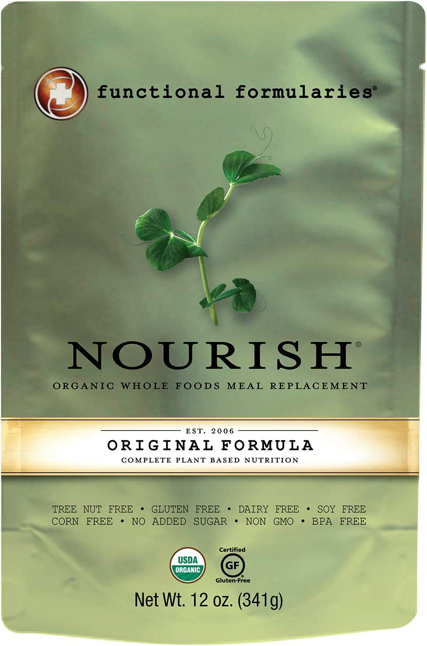 Organic Whole Foods Meal Replcement-Peptide Formula 12 oz.