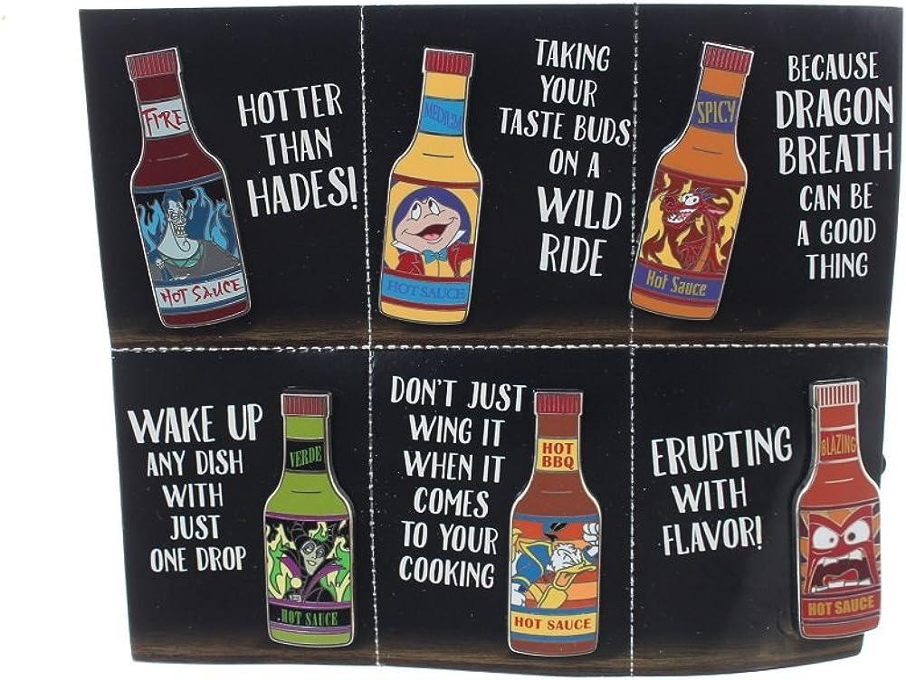 Disney Hot Sauce 6 Pin Booster Set