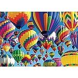 hot air balloon puzzle - KODAK Premium Puzzles Bursting with Balloons Jigsaw Puzzle (1000 Piece)