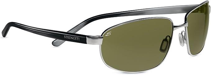 SERENGETI Trapani Gafas de Sol, Color Cristal Polarized 555nm ...