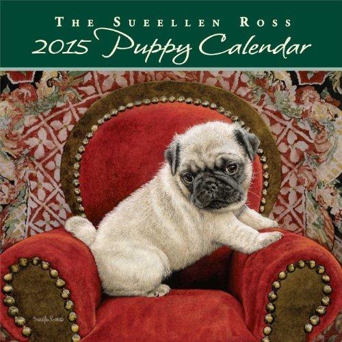 Dog 2014 Mini Calendar - Sueellen Ross Puppy 2015 Mini Wall Calendar by Sueellen Ross (2014-06-17)
