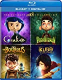 The Ultimate Laika Collection (Coraline / ParaNorman / The Boxtrolls / Kubo and the Two Strings) [Blu-ray]