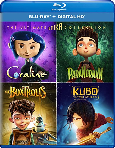 DVD : The Ultimate Laika Collection (Coraline / ParaNorman / The Boxtrolls / Kubo and the Two Strings) [Blu-ray]