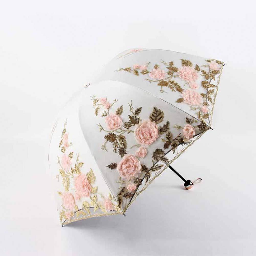 jaune  YZMBYUSAN Parapluie Pliable Parapluie Pluie Femmes Parapluie élégant Coupe-Vent Parasol Parasol Pluie Parapluie imperméable Parasol