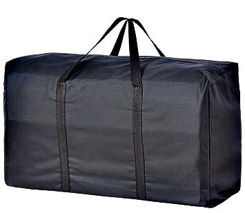Práctica bolsa de almacenamiento extragrande, resistente al agua 600D Oxford Jumbo bolsa de almacenamiento con