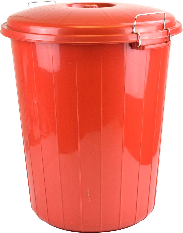Papelera DE 25 litros, en Rojo, Azul o Crema