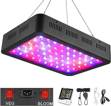 WAKYME 600W LED plant grow light