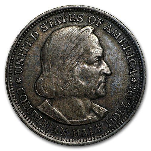 1892 - 93 Columbian Expo Half Avg Circ Half Dollar Very Good