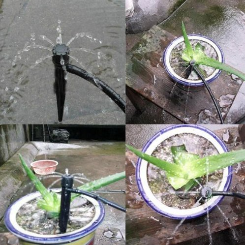 AS (50pcs) Adjustable Flow Irrigation Dr - Full Circle Sprayer Shopping Results