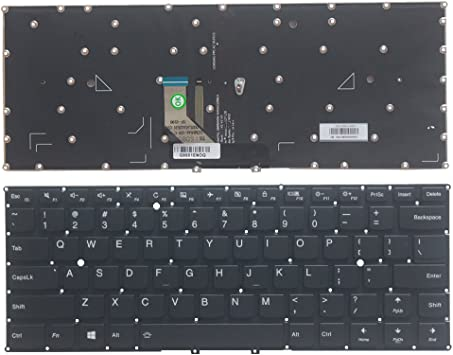 Amazon Com Laptop Replacement Parts Fit Lenovo Yoga 910 910 13ikb Single Keyboard Backlight Computers Accessories