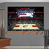 """NBA Cleveland Cavaliers Quicken Loans Arena Mural Fathead Real Big Decals, 72""""W x 48""""H"""