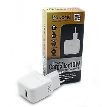 Cargador Pared 10W (2.1A) iPower USB Biwond: Amazon.es ...