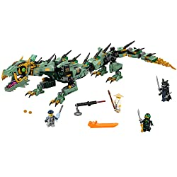 LEGO Ninjago Movie Green Ninja Mech Dragon 70612 Building Kit - gifts for 10 year old boys