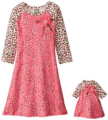 Dollie Me Girls Leopard Fashion