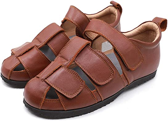 CHUANGLI Extra Wide Orthotic Sandal