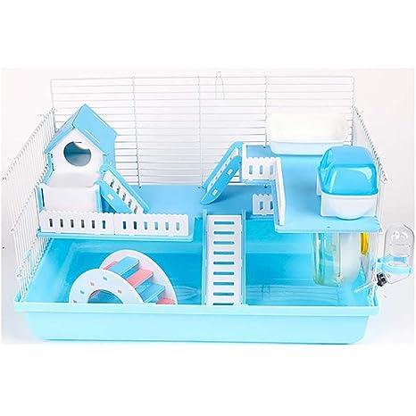 Gouwo Hamster Jaula, Pequeño jaulas de animales, de plástico verde ...