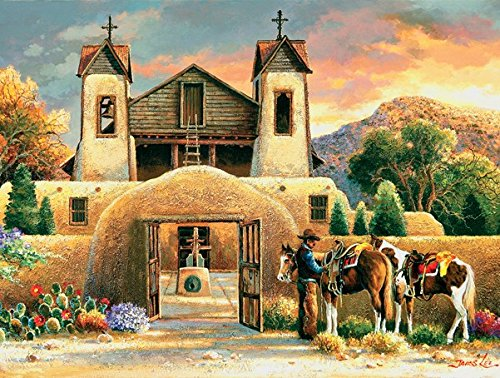 Mission Afternoon 500 Piece Jigsaw Puzzle by SunsOut