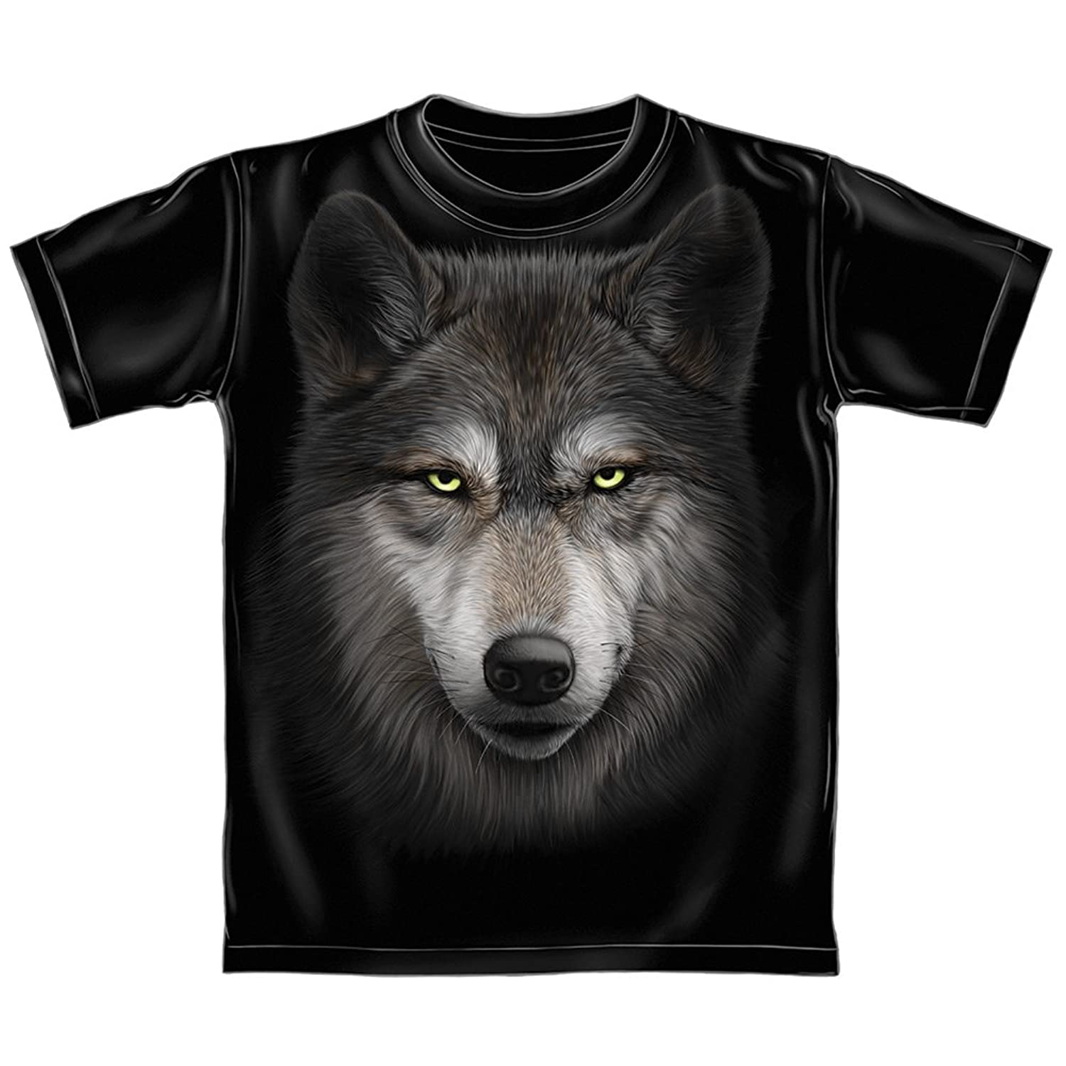 3f228dbbe27 outlet Wolf Face Adult Tee - bellefontaine.lu