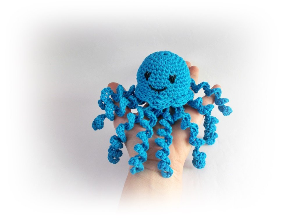 Octopus jellyfish Crochet octopus