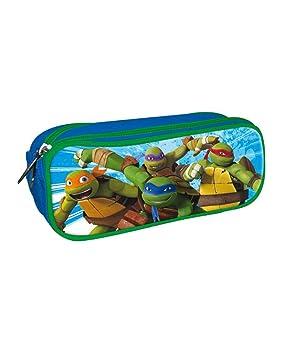 Las Tortugas Ninja, Estuche portatodo con Doble Cremallera ...