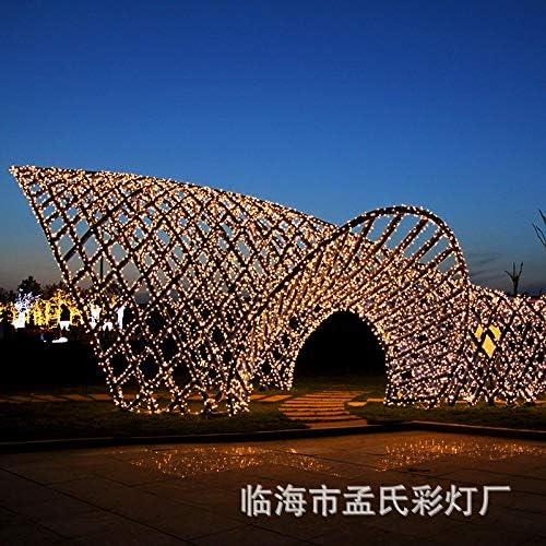LED Lichter blinkende Lichterketten Festival im Freien wasserdicht hellen Himmel Zeichenfolge von Sternen, 30 m 300 Lampenstecker, lila