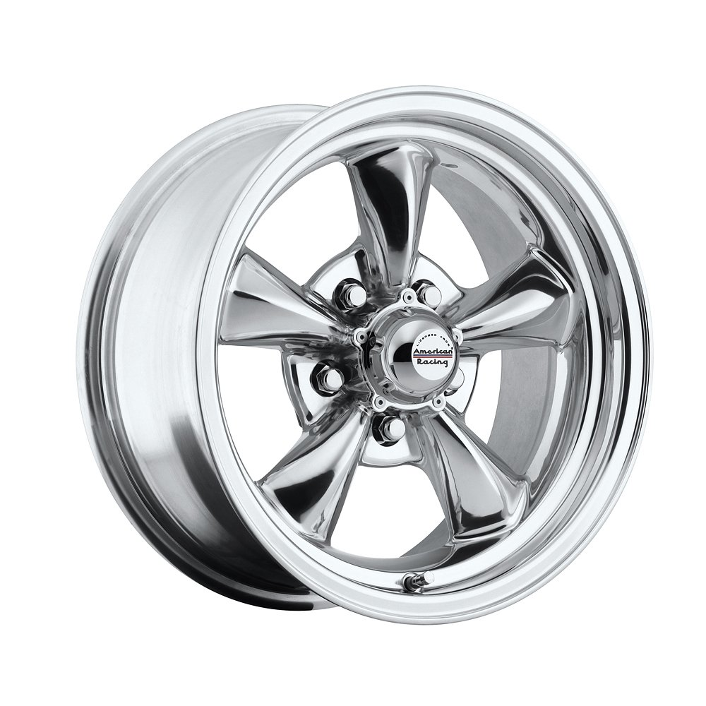 15 inch 15x7 100 p classic series polished aluminum wheels rims licensed from american racing 5x4 50 ford lug pattern 0 offset 4 00 backspacing set of