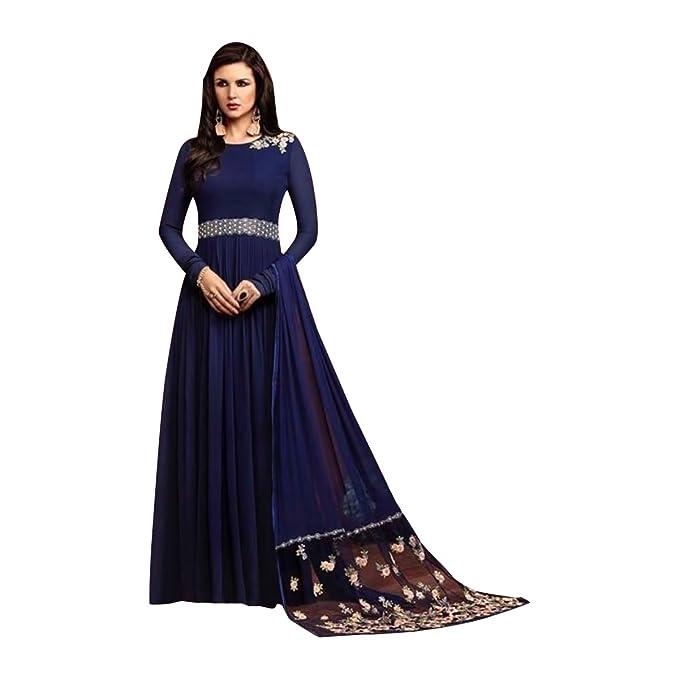 7284b5cab Vestido tradicional de las mujeres del vestido del vestido de fiesta de  Anarkali Ropa étnica Vestido del diseñador de la muchacha de Bollywood 348   ...