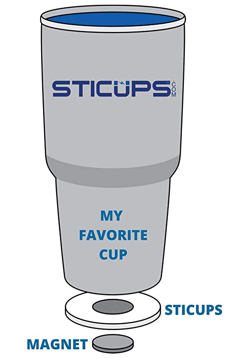 Amazon.com: STICUPS Reusable Portable Magnetic Cup Holder for Boats on home cup holder, golf cart cup extension, hummer cup holder, horse cup holder, quad cup holder, lexus cup holder, cobra cup holder, honda cup holder, vehicle cup holder, ezgo marathon cup holder, john deere cup holder, golf pull carts, van cup holder, convertible cup holder, chopper cup holder, moped cup holder, skateboard cup holder, wheel cup holder, golf hand carts, clip on cup holder,