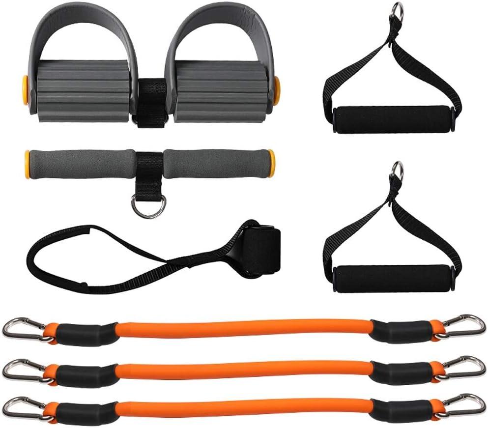 Fitness y ejercicio Peso corporal Kit de entrenamiento físico Banda de resistencia física Pedal Ejercitador Cuerda Abdominales Cuerdas de entrenamiento Bandas for yoga Pilates Expansor Elástico Muscul
