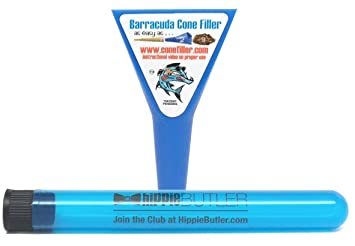 Charmant Barracuda Cone Filler With Hippie Butler XL Doob Tube