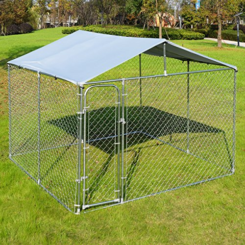 Giantex Large Kennel Backyard Playpen