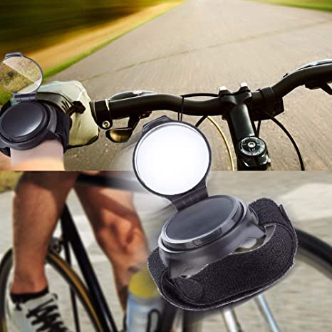 2pcs Rotatable Handlebar Rearview Mirror Bike Bicycle Cycling Rear View Mirror