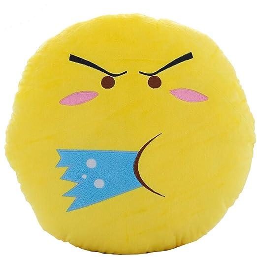 Clerfy Acc Almohadas Emojis,30cm/12 Pulgadas, Amarillas ...