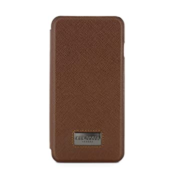 buy popular 61aa8 014a8 Ted Baker Official SS17 Folio Style Case with Credit Card Slot for iPhone 7  Plus Leather Style iPhone 6S Plus Business Friendly Case Made for CEO in ...