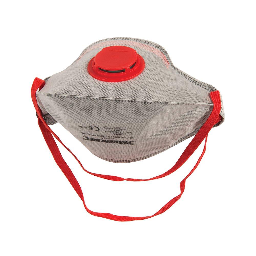 Silverline 656631 Masque respiratoire pliable à valve